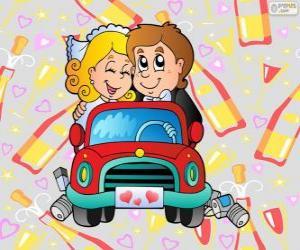 Puzzle Jeunes mariés