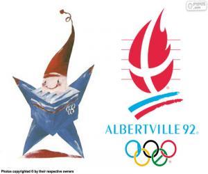 Puzzle Jeux olympiques d'Albertville 1992