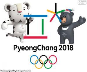 Puzzle Jeux olympiques d'hiver à PyeongChang 2018