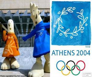 Puzzle Jeux olympiques d'Athènes 2004