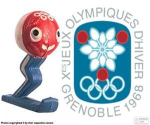 Puzzle Jeux olympiques d'hiver de 1968