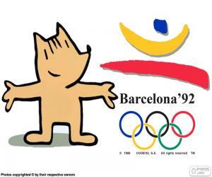Puzzle Jeux olympiques de Barcelone 1992