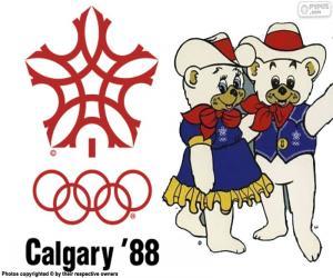 Puzzle Jeux olympiques de Calgary 1988
