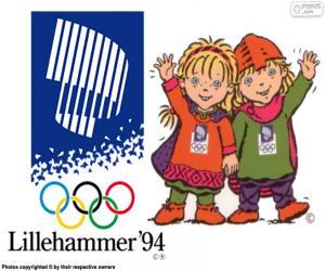 Puzzle Jeux olympiques de Lillehammer 1994