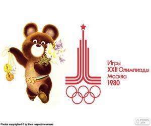 Puzzle Jeux olympiques de Moscou 1980
