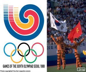 Puzzle Jeux olympiques de Séoul 1988