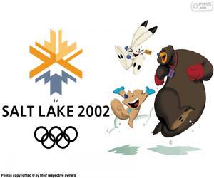 Puzzle Jeux olympiques de Salt Lake City 2002