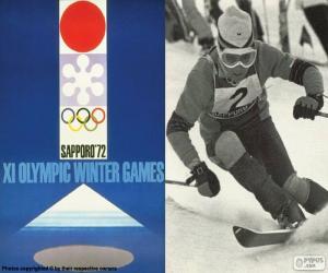 Puzzle Jeux olympiques de Sapporo 1972