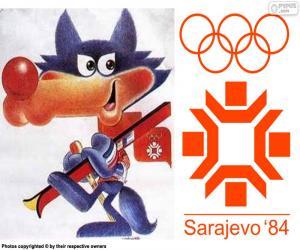 Puzzle Jeux olympiques de Sarajevo 1984