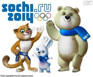Puzzle Jeux olympiques de Sochi 2014