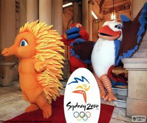 Puzzle Jeux olympiques de Sydney 2000