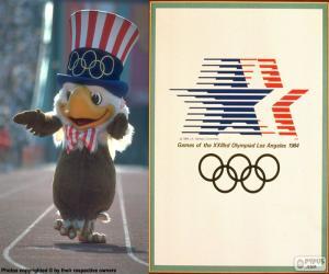 Puzzle Jeux olympiques Los Angeles 1984