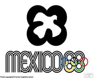 Puzzle Jeux olympiques Mexico 1968