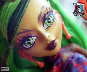 Puzzle Jinafire Long, Monster High