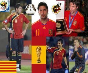 Puzzle Joan Capdevila (La incombustible) défense de l'équipe nationale Espagnol