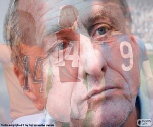 Puzzle Johan Cruyff (1947-2016)
