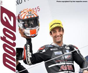 Puzzle Johann Zarco, Moto2 2015