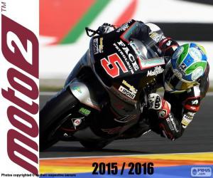Puzzle Johann Zarco, Moto2 2016