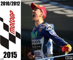 Puzzle Jorge Lorenzo, MotoGP 2015