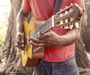 Puzzle Jouer de la guitare