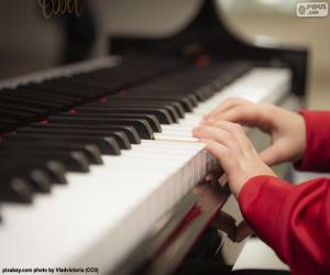 Puzzle Jouer du piano
