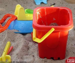 Puzzle Jouets de sable