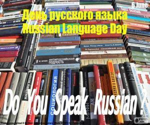 Puzzle Journée de la langue russe