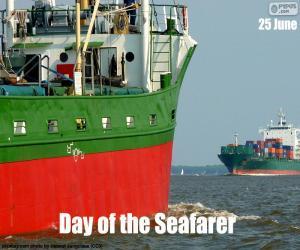 Puzzle Journée des gens de mer