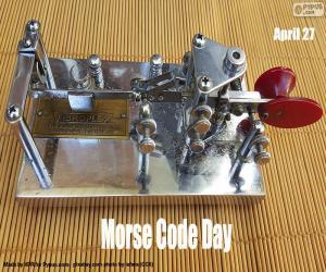 Puzzle Journée du code Morse
