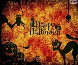Puzzle Journée Halloween