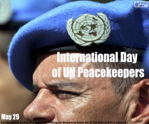 Puzzle Journée internationale des Casques bleus des Nations Unies