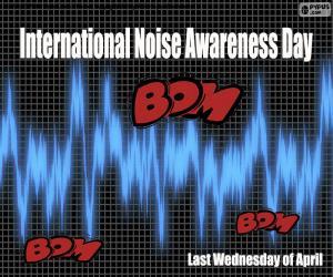 Puzzle Journée internationale de sensibilisation au bruit