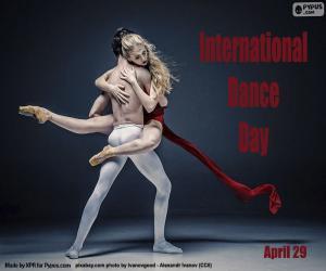 Puzzle Journée internationale de la danse