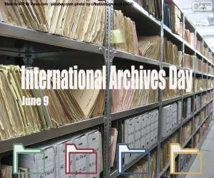Puzzle Journée internationale des archives