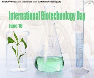 Puzzle Journée internationale de la biotechnologie