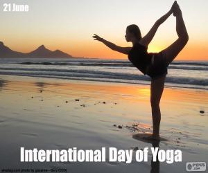 Puzzle Journée internationale du Yoga