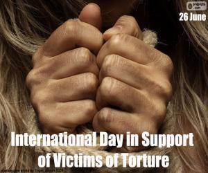 Puzzle Journée internationale pour le soutien aux victimes de la torture