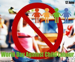 Puzzle Journée mondiale contre le travail des enfants
