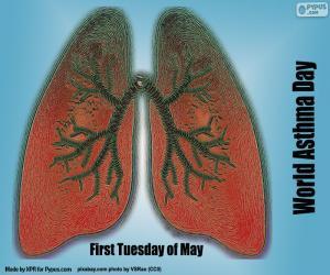 Puzzle Journée mondiale de l'asthme