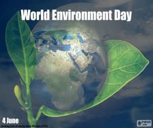 Puzzle Journée mondiale de l'environnement