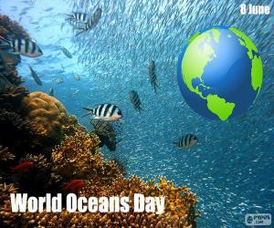 Puzzle Journée mondiale de l'océan