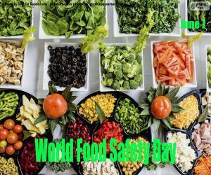 Puzzle Journée mondiale de la sécurité alimentaire