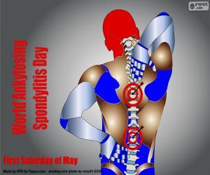 Puzzle Journée mondiale de la spondylite ankylosante