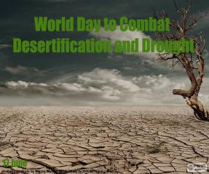Puzzle Journée mondiale de lutte contre la désertification