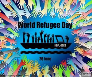 Puzzle Journée mondiale des réfugiés