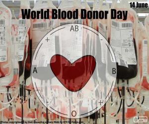 Puzzle Journée mondiale du donneur de sang