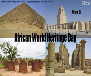 Puzzle Journée mondiale du patrimoine africain