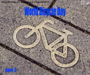 Puzzle Journée mondiale du vélo