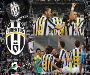 Puzzle Joventus, champion de la Ligue italienne de football - Lega Calcio 2011-12
