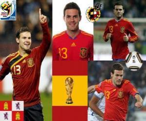 Puzzle Juan Mata (La cheville Magic) attaquant de l'équipe nationale Espagnol